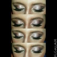Purple Glitter Haze Makeup!