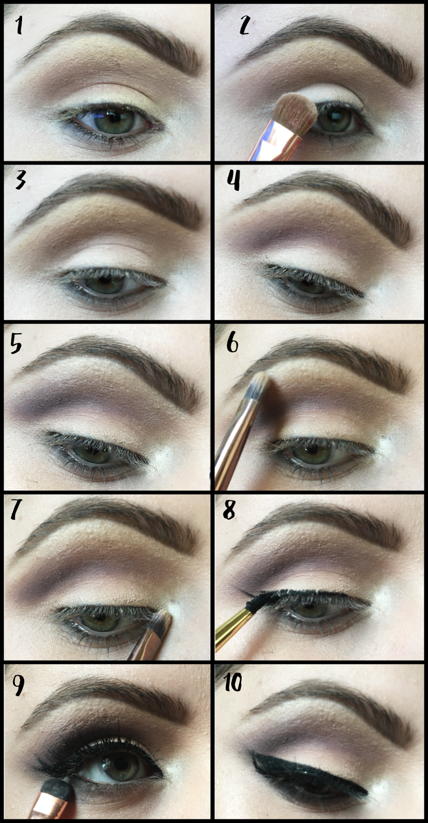 Pin up eye makeup tutorial step by step step 1 through 7 i used mac cosmetics eyeshadows baditri Image collections