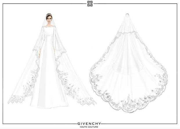 meghan-markle-givenchy-wedding-dress-sketch