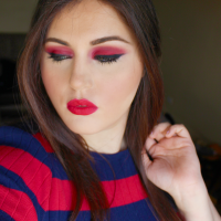Fire Red Makeup Look | Artistakay